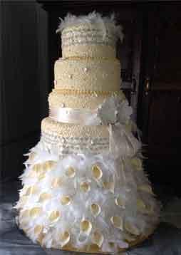 Nelspruit wedding cakes